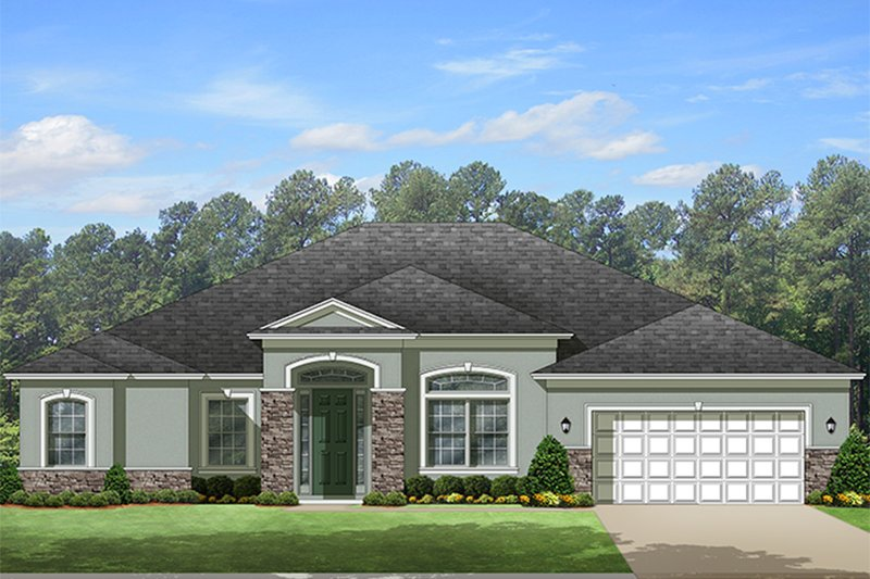 House Plan Design - European Exterior - Front Elevation Plan #1058-129