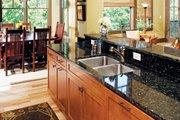European Style House Plan - 4 Beds 4 Baths 2263 Sq/Ft Plan #929-891 Interior - Kitchen
