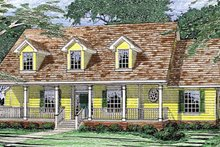Country Exterior - Front Elevation Plan #472-148
