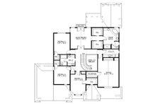 Traditional Floor Plan - Upper Floor Plan Plan #132-569
