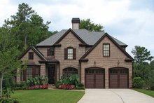 House Plan Design - European Exterior - Front Elevation Plan #54-290