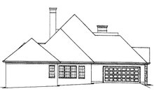 House Plan Design - Country Exterior - Other Elevation Plan #429-79
