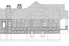 House Plan Design - Craftsman Exterior - Other Elevation Plan #1057-1