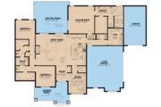 European Style House Plan - 3 Beds 2.5 Baths 2253 Sq/Ft Plan #923-80 Floor Plan - Main Floor Plan