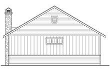 Craftsman Exterior - Rear Elevation Plan #124-989