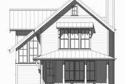 Beach Style House Plan - 3 Beds 2.5 Baths 2153 Sq/Ft Plan #901-131 Exterior - Front Elevation