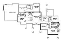 Traditional Floor Plan - Lower Floor Plan Plan #5-331