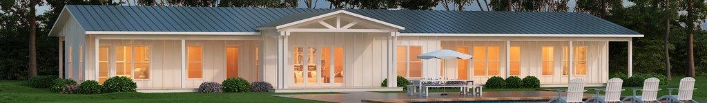 T-Shaped House Plans - Houseplans.com