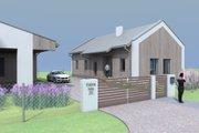 Modern Style House Plan - 3 Beds 2 Baths 1450 Sq/Ft Plan #549-26