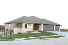 House Plan Design - Contemporary Exterior - Front Elevation Plan #20-2357