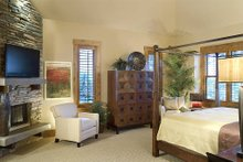 Dream House Plan - Master Bedroom - 5100 Square foot Craftsman home