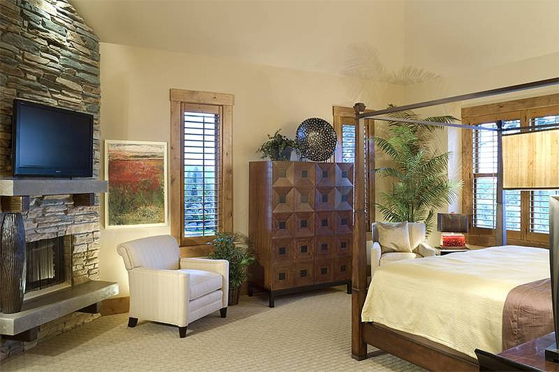 Master Bedroom - 5100 Square foot Craftsman home