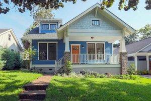 Craftsman Exterior - Front Elevation Plan #461-6
