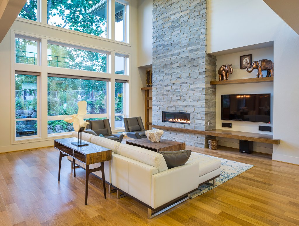 Contemporary Style House Plan - 4 Beds 4.5 Baths 4106 Sq/Ft Plan #48 ...
