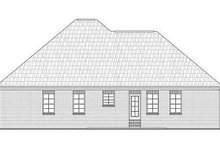Country Exterior - Rear Elevation Plan #21-233