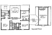 Colonial Style House Plan - 4 Beds 3.5 Baths 2270 Sq/Ft Plan #315-109 Floor Plan - Upper Floor