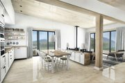 Cabin Style House Plan - 2 Beds 2 Baths 1230 Sq/Ft Plan #924-2 Interior - Dining Room