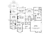 Country Style House Plan - 4 Beds 3 Baths 2578 Sq/Ft Plan #929-969 Floor Plan - Main Floor Plan