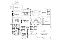 Country Floor Plan - Main Floor Plan Plan #929-969