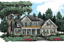 House Design - Country Exterior - Front Elevation Plan #927-361