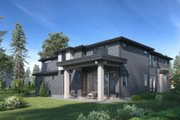 Contemporary Style House Plan - 5 Beds 4.5 Baths 3794 Sq/Ft Plan #1066-97 Exterior - Other Elevation