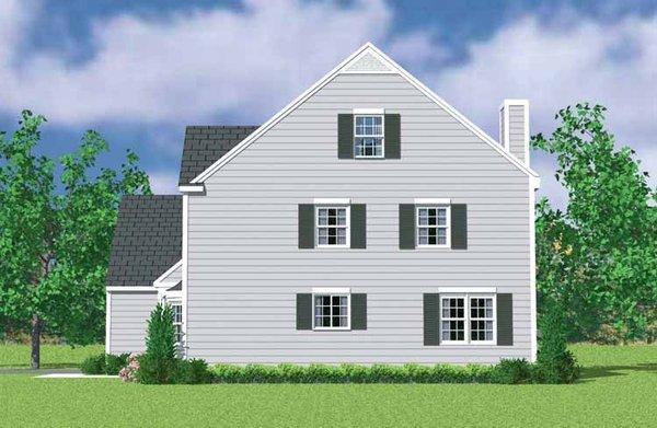 Colonial Floor Plan - Other Floor Plan Plan #72-1117