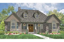 Dream House Plan - Craftsman Exterior - Front Elevation Plan #314-279