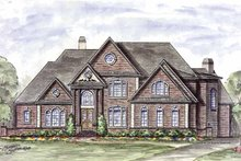 Architectural House Design - European Exterior - Front Elevation Plan #54-279