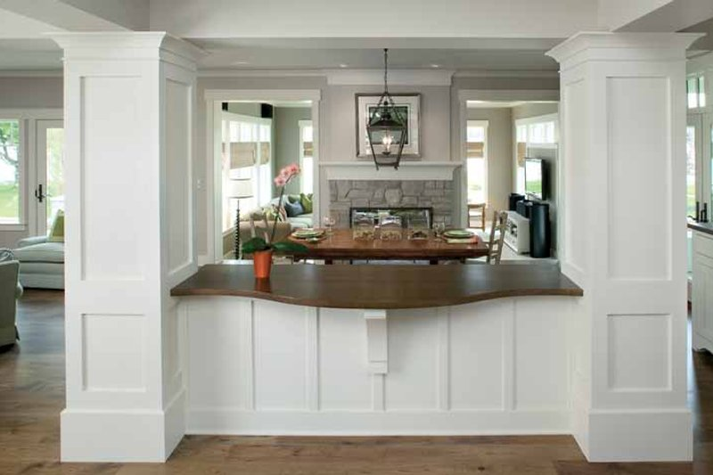 Traditional Interior - Dining Room Plan #928-23 - Houseplans.com