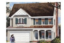 Home Plan - Traditional Exterior - Front Elevation Plan #137-362