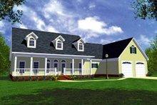 Farmhouse Exterior - Front Elevation Plan #21-154