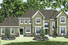 House Plan Design - Traditional Exterior - Front Elevation Plan #328-465