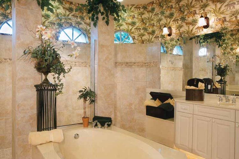 Mediterranean Interior - Bathroom Plan #930-318 - Houseplans.com
