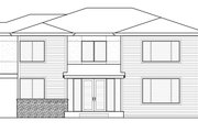 Traditional Style House Plan - 4 Beds 4 Baths 2802 Sq/Ft Plan #1066-95 Exterior - Front Elevation