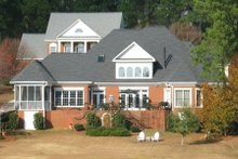 Dream House Plan - Traditional Exterior - Rear Elevation Plan #1054-80