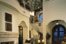 Architectural House Design - Mediterranean Interior - Entry Plan #1039-2