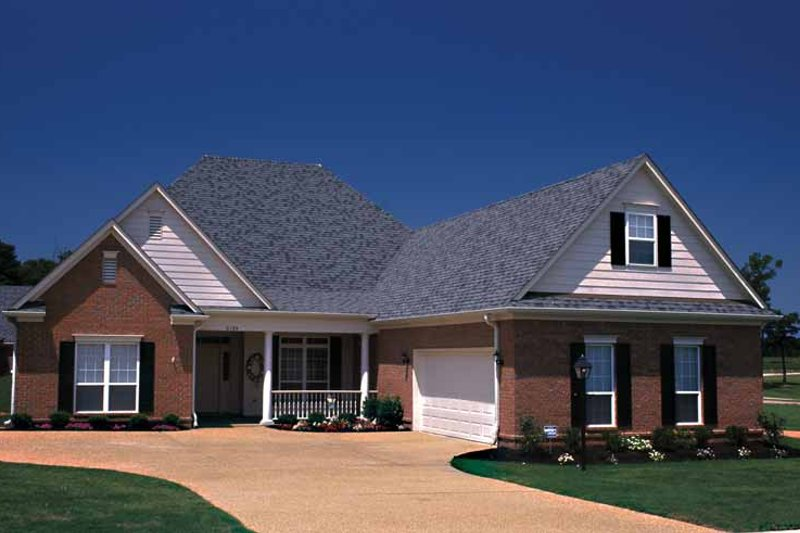 Home Plan - Country Exterior - Front Elevation Plan #17-3086