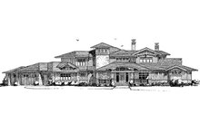 Prairie Exterior - Front Elevation Plan #942-37