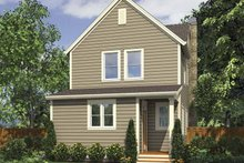 Dream House Plan - Country Exterior - Rear Elevation Plan #48-867