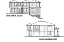 House Plan Design - European Exterior - Other Elevation Plan #1066-74