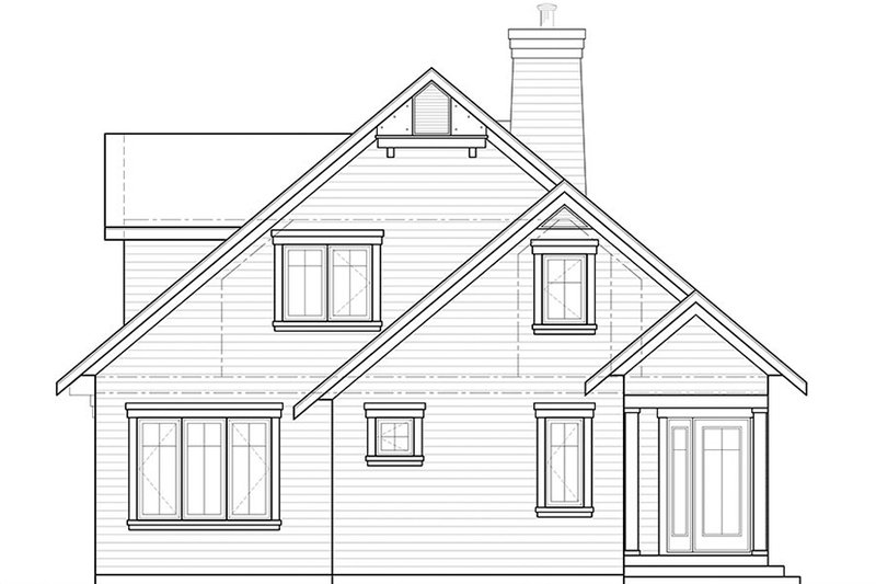 Traditional Exterior - Front Elevation Plan #23-2610 - Houseplans.com