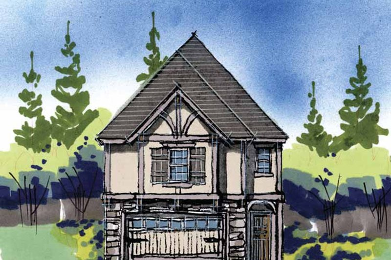 Traditional Exterior - Front Elevation Plan #509-250