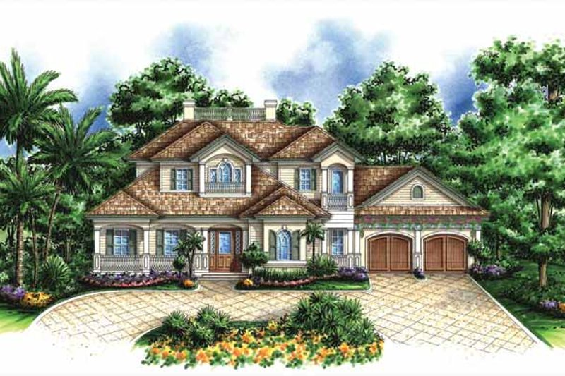Dream House Plan - Traditional Exterior - Front Elevation Plan #1017-131