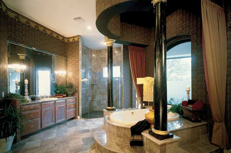 European Interior - Bathroom Plan #417-563 - Houseplans.com