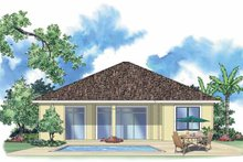 Mediterranean Exterior - Rear Elevation Plan #930-391