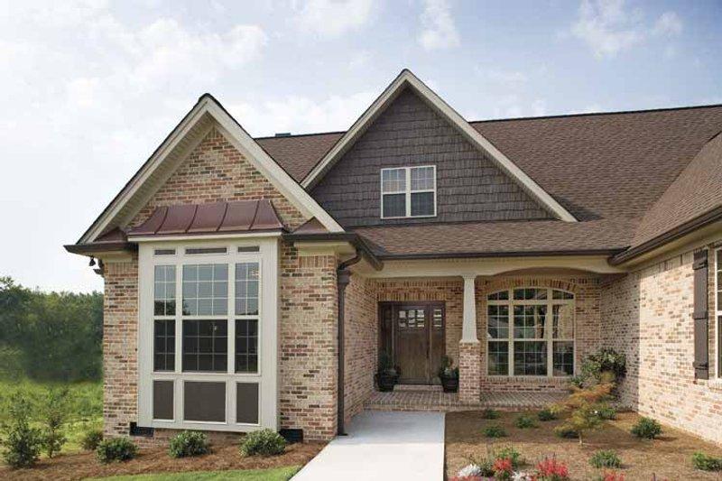 Ranch Exterior - Front Elevation Plan #929-601 - Houseplans.com