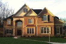 Dream House Plan - Mediterranean Exterior - Front Elevation Plan #927-211