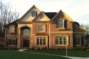 Dream House Plan - Mediterranean Exterior - Front Elevation Plan #927-211