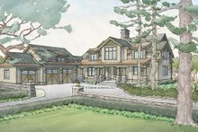 Dream House Plan - Craftsman Exterior - Front Elevation Plan #928-260
