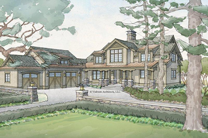 Craftsman Exterior - Front Elevation Plan #928-260 - Houseplans.com